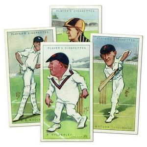 Cricketers Caricatures by 'RIP' Player's, (47/50)