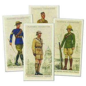Military Uniforms of the B.E. Overseas (50) Player's