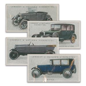 Motor Cars (25) Lambert & Butler 1922