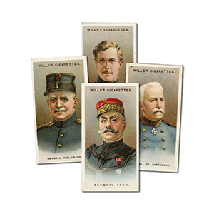 Allied Army Leaders (50) Wills's 1917