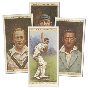 Cricketers 1928 (50) Wills's