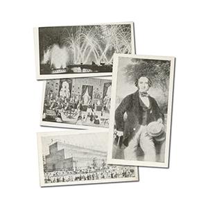 Crystal Palace Souvenir Cards (40) R & J Hill