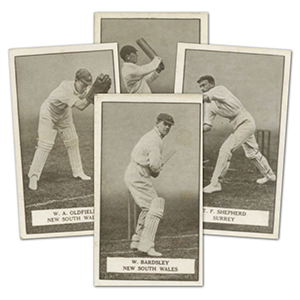 Gallagher Famous Cricketers 1926 (100) Cat £300