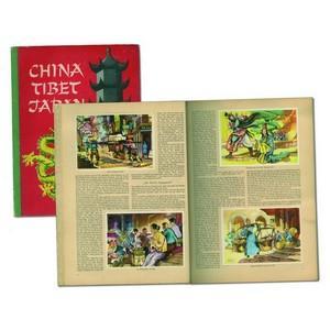 China Tibet Japan cards.