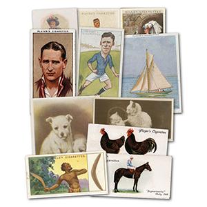 Bulk Lot - 5 Complete Cigarette Card Sets