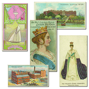 Scarce Cigarette Card Selection