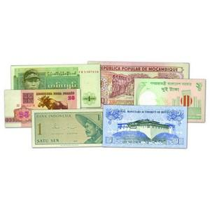 60 Different World Bank Notes