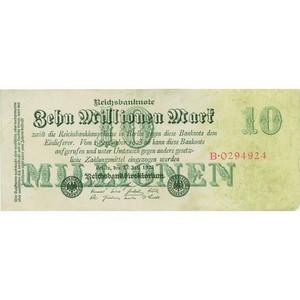 Ten Million Mark Reichsbank Note