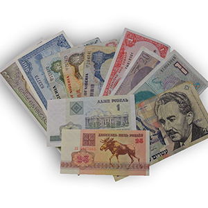 Beginner's pack of 11 Different World Notes.