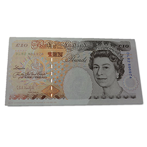 United Kingdom 1993-98 £10.00 Kentfield Signed Note, Uncirculated