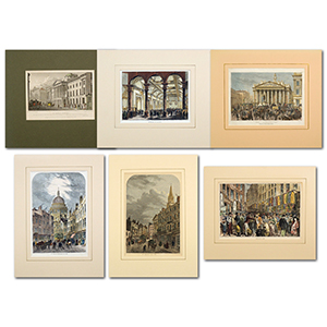 London Views Collection of ILN mounted pages