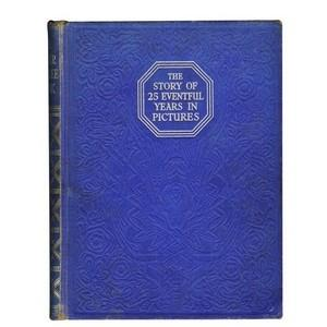 1910 - 1935 Silver Jubilee Hardback Book - Over 500 Photographs