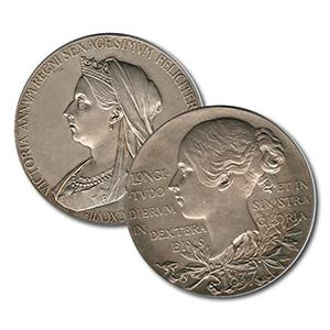 Large Silver Medal - Queen Victoria Diamond Jubilee