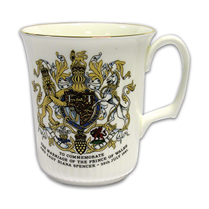 Commemorative Mug - Prince Charles & Princess Diana Royal Wedding 1981