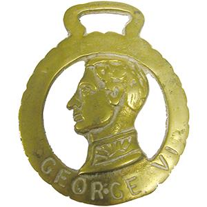 Horse Brass - George VI