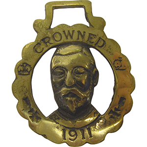 Horse Brass - George V Coronation 1911