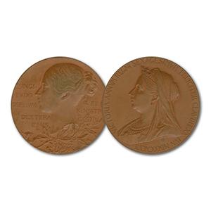 Bronze Medal - Queen Victoria 1837 - 1897