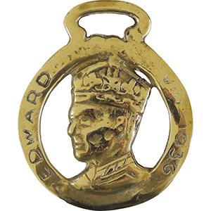 Horse Brass - Edward VIII