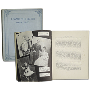 Edward The Eighth - Our King Souvenir Book