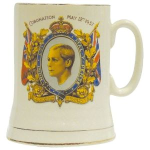 Small Commemorative Tankard - King Edward VIII Coronation 1902