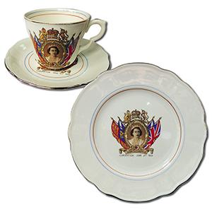 Commemorarive Teaset - Queen Elizabeth II Coronation 1953