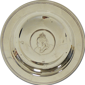 Silver Trinket Dish - Queen Victoria - 1973 Limited Edition