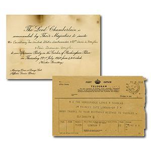 Elizabeth II Telegram - 1950