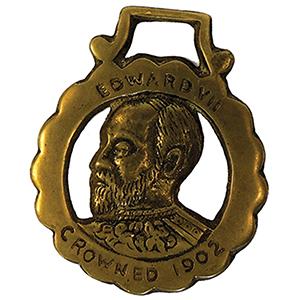 Horse Brass - Edward VII