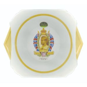 Art Deco Plate - Edward VIII Coronation 1936