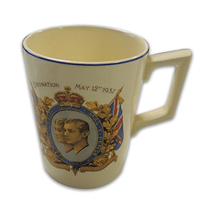 Coronation Mug - King George VI 1937