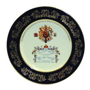 Aynsley Charles/Diana plate