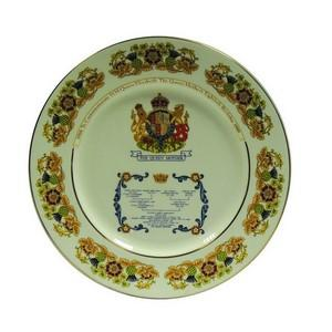 Queen Mother 80th plate