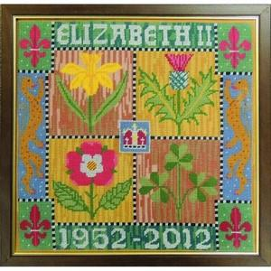HM Queen Elizabeth II Diamond Jubilee Tapestry