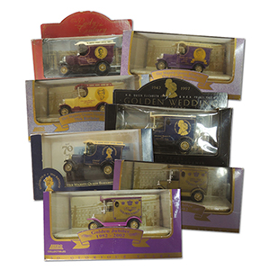7 Lledo Royalty editions