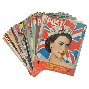 Picture Post Magazines - The Royals - Collection of 16