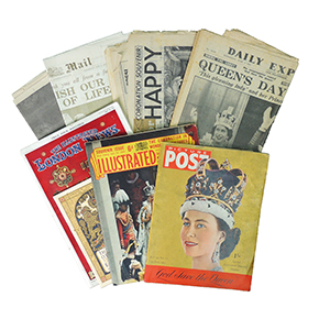 1953 Coronation Programme and publications