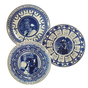 Wedgwood Royalty Plates - Set of 3