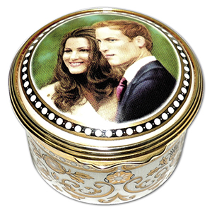 2011 Royal Worcester Royal Wedding china box