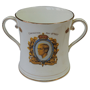 1937 Edward VIII Coronation Loving Cup