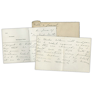 1917 Queen Mary Letter