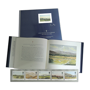 HRH Prince of Wales Watercolours Book