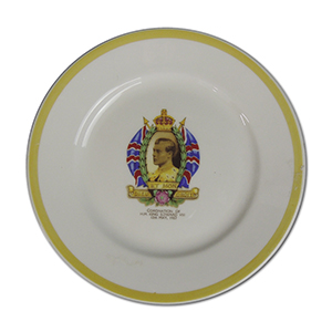 1937 King Edward VIII Coronation Plate