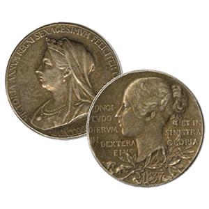 1897 Queen Victoria Jubilee Silver Medal