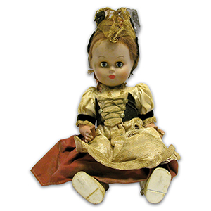 Early 19th Century German Doll