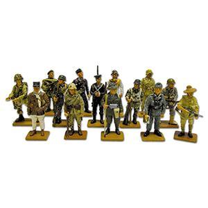 14 WWII Del Prado Military Figures