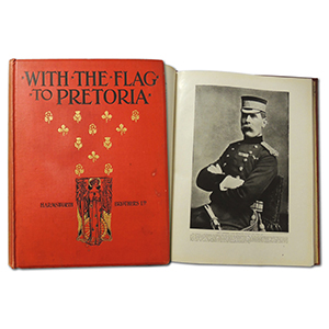 'With the Flag to Pretoria' in Two Large Volumes