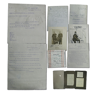 Commander Serocold Great War Scrapbook