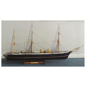 Model Ship - HMS Warrior (38.8 x 67.3cm)