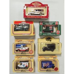 7 Lledo 'Days Gone' Die Cast Models