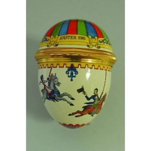 Halcyon Days Easter 1981 Enamel Box